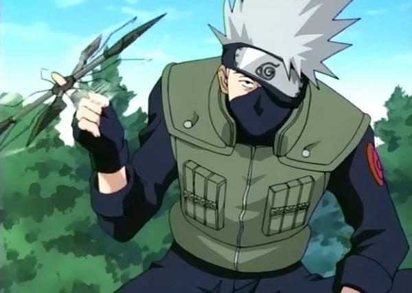 #3: Naruto - Hatake Kakashi