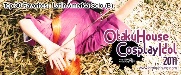 Top 30 Favorites : Latin America Cosplayers