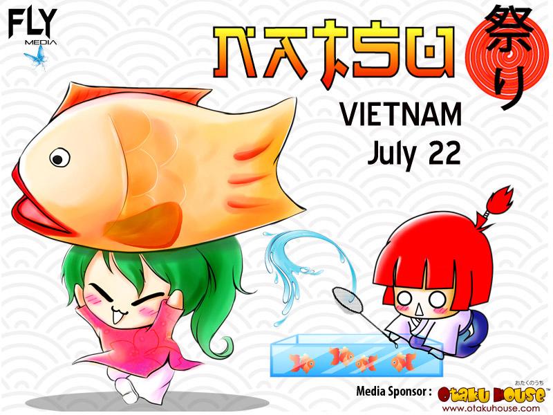 Natsu Matsuri 2012 Reveals Event Poster – Otaku House is Media Partner