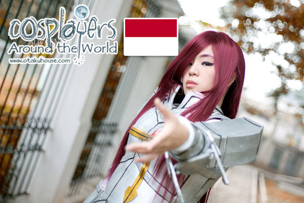 Cosplayers Around the World Feature : Risa Crimson from Indonesia