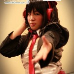 Vocaloid: Zatsune Miku cosplay