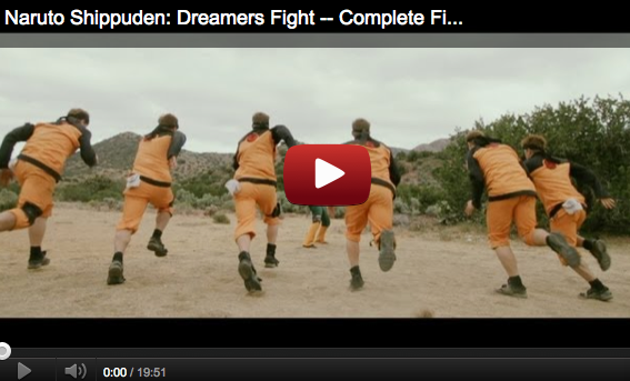 Naruto Shippuden Live Action: Dreamers Fight complete version