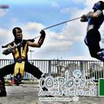 Mortal Kombat 9 - Scorpion vs. Sub Zero Cosplay