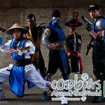 Mortal Kombat Cosplay: Stryker, Kung Lao, Sub Zero