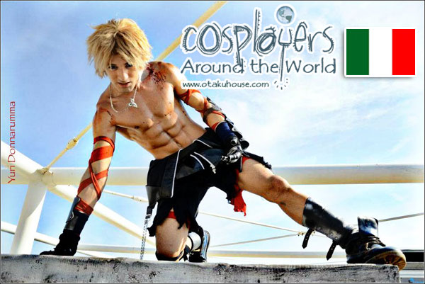 Final Fantasy Dissidia Cosplay: Tidus