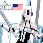 Portal GLaDOS Cosplay (Photo by Karina Antigua)