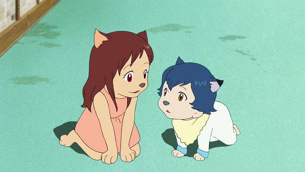 Wolf Children Movie Screenshot