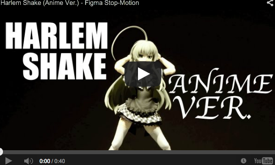 Anime Harlem Shake Video