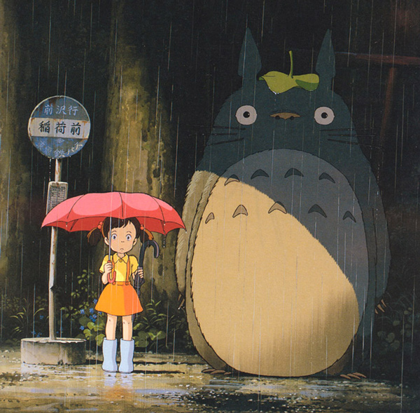 Totoro-At-The-Bus-Stop