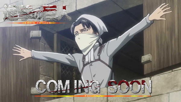 [NEWS] La saison 2 en préproduction confirmée ! [edit] Attack-On-Titan-Release-June-Levi