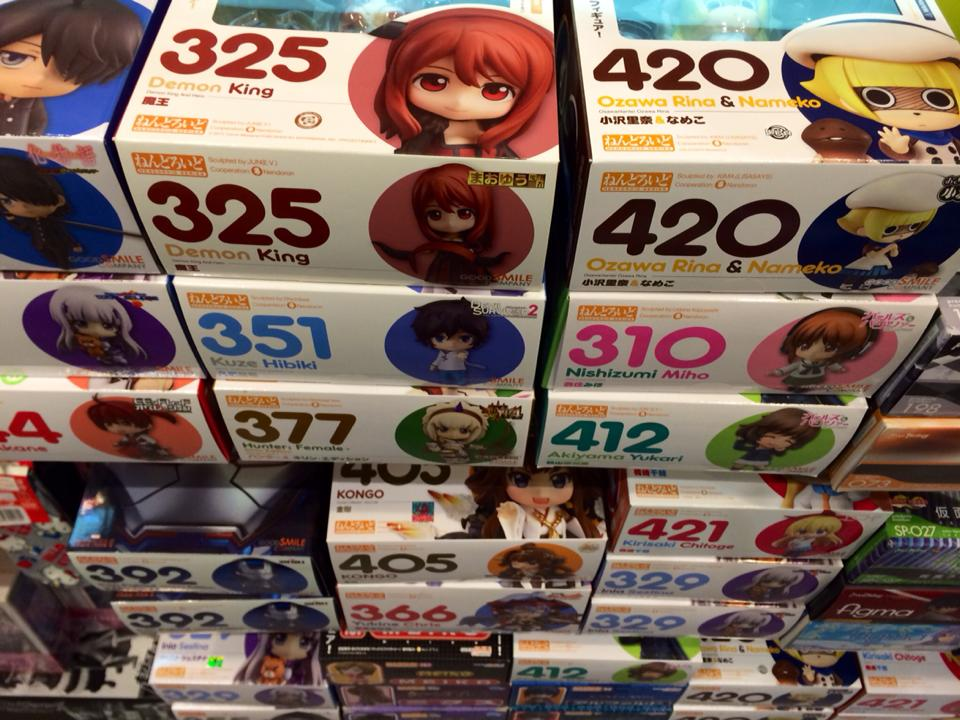 Visit Otaku House if you are looking for Nendoroids in Singapore