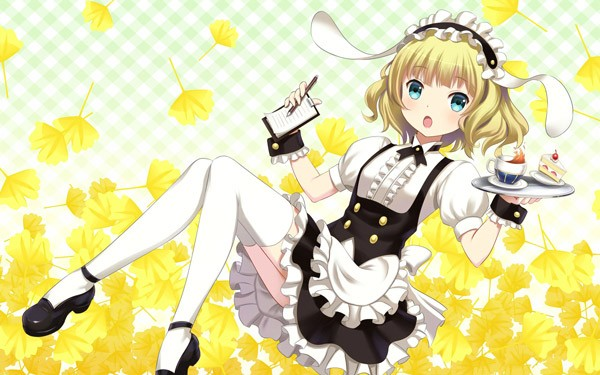 Coming From The 13 Sport With Fluffy Shoulder Length Blonde Hair And Frilly Maid Uniform Have You Fallen Head Over Toes Sharo Kirima Yet