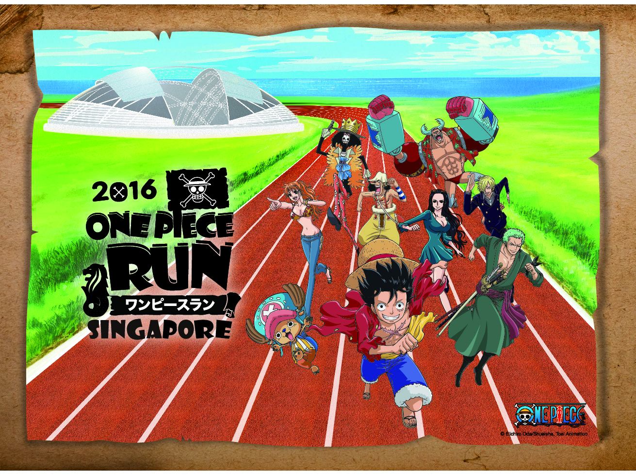 One Piece Run Singapore 2016