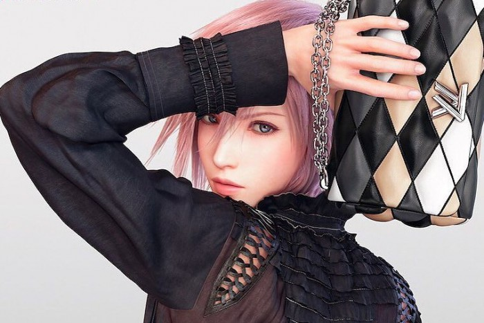 Lightning Farron is Forced to buy Louis Vuitton Bags