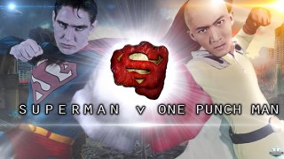 One Punch man versus Superman film?!