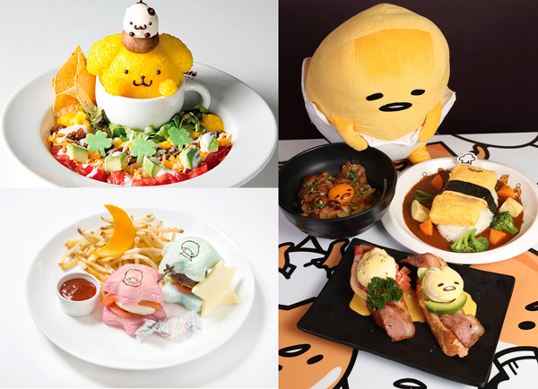 Sanrio Themed Cafés Are Great Fun!