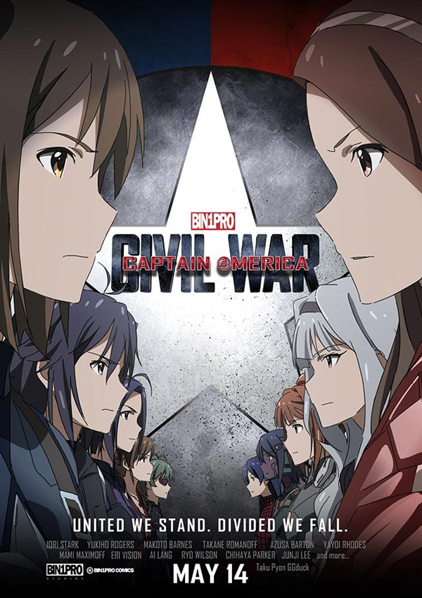 If Captain America Civil War Was An Anime