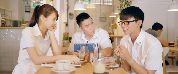 Joyce Chu, Joshua Tan & Aloysius Pang, Young & Fabulous movie, Copyright Encore Films
