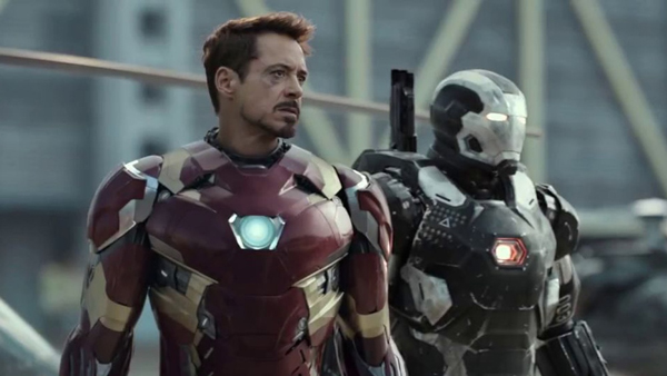 Tony Stark as Iron Man