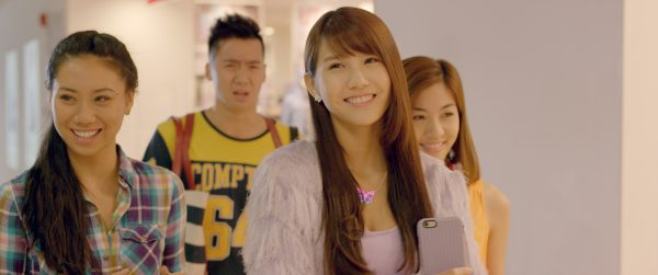 Sandra Tang, Joshua Tan, Joyce Chu & Narelle Kheng, Young & Fabulous movie, Copyright Encore Films