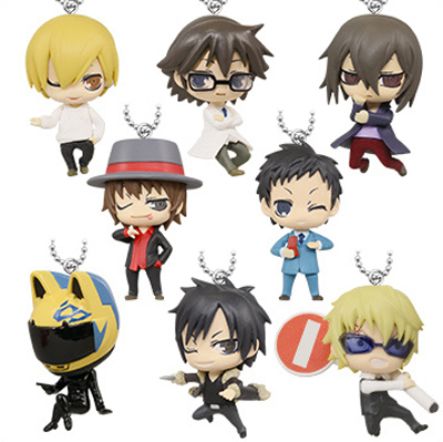 Deformed Mini Figure Gacha Keychain (Part 2) - Durarara x2!!