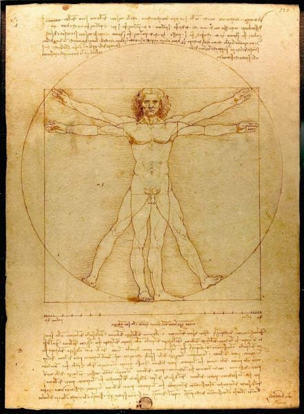 Vitruvian-Man-Original-Drawing