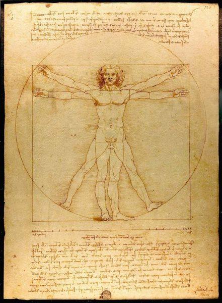 Vitruvian-Man-Original-Drawing