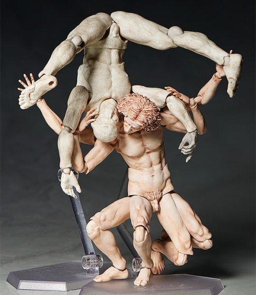 Vitruvian Man vs David