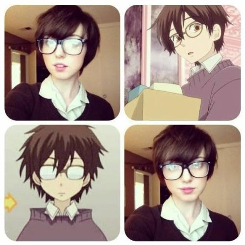 Haruhi Fujioka cosplay