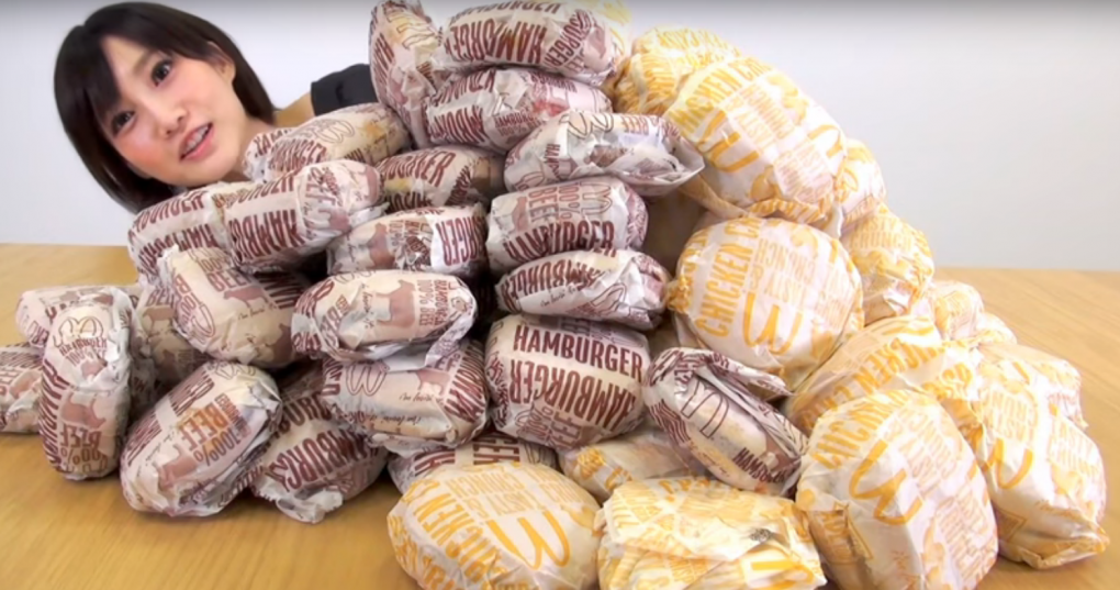 Can This Tiny Japanese Beauty Devour 100 Burgers