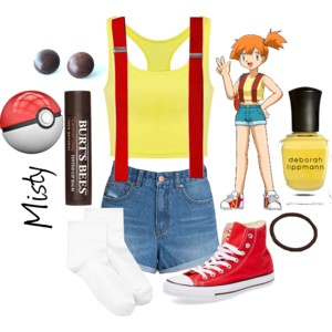 Misty Pokemon Polyvore