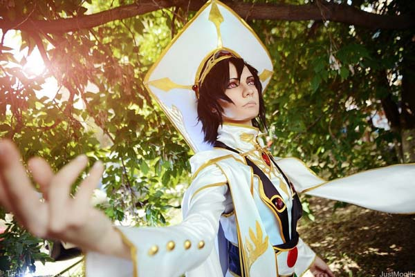 Lelouch Lamperouge Cosplay Code Geass