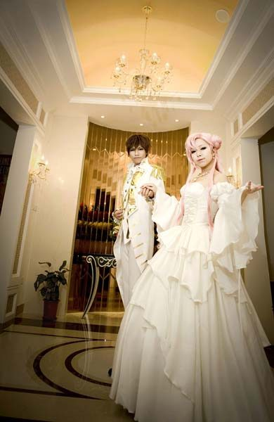 Suzaku and Euphemia Cosplay